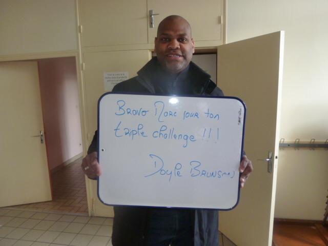 11h01 ! Marc nous quitte avec les félicitations de Doyle BRUNSON